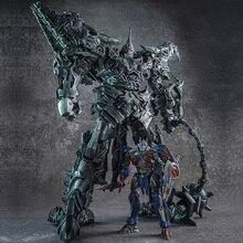 Transformation WJ Grimlookโลหะผสมโลหะภาพยนตร์OversizeขยายSS07 ไดโนเสาร์ผู้นำโบราณAction Figureหุ่นยนต์ของเล่นของขวัญ