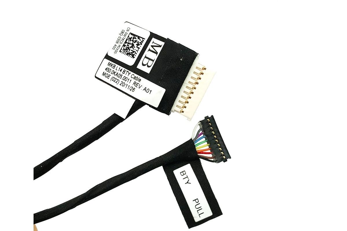 全新戴尔Dell Latitude 3510 电池排线连接线 Battery Cable P/N:0W7KC0 MKB L14 BTY Cable 450.0KA05.0011