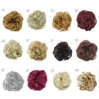 Marke Neue 28 Stijlen Women Modus Realistische Pluizige Multicolor Kort Krullend Synthetische Pruik Haar Abdeckung
