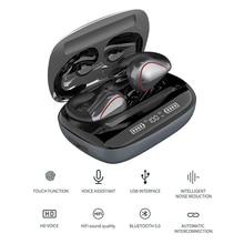 Nouveau Clip Ear TWS sans fil Bluetooth 5.0 écouteurs HIFI réduction du bruit étanche à la transpiration contrôle tactile musique écouteurs