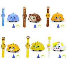 Toys Rotating-Watch Baby Kids Children Cartoon for Gifts Gyroscope Animal Inertial Wind-Up