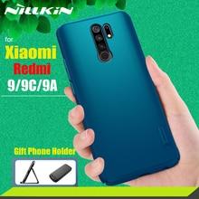 for Xiaomi Redmi 9/9A/9C Case Casing Nillkin Frosted Matte PC Hard Back Phone Cover Case on Redmi 9 Redmi 9C/9A Cases