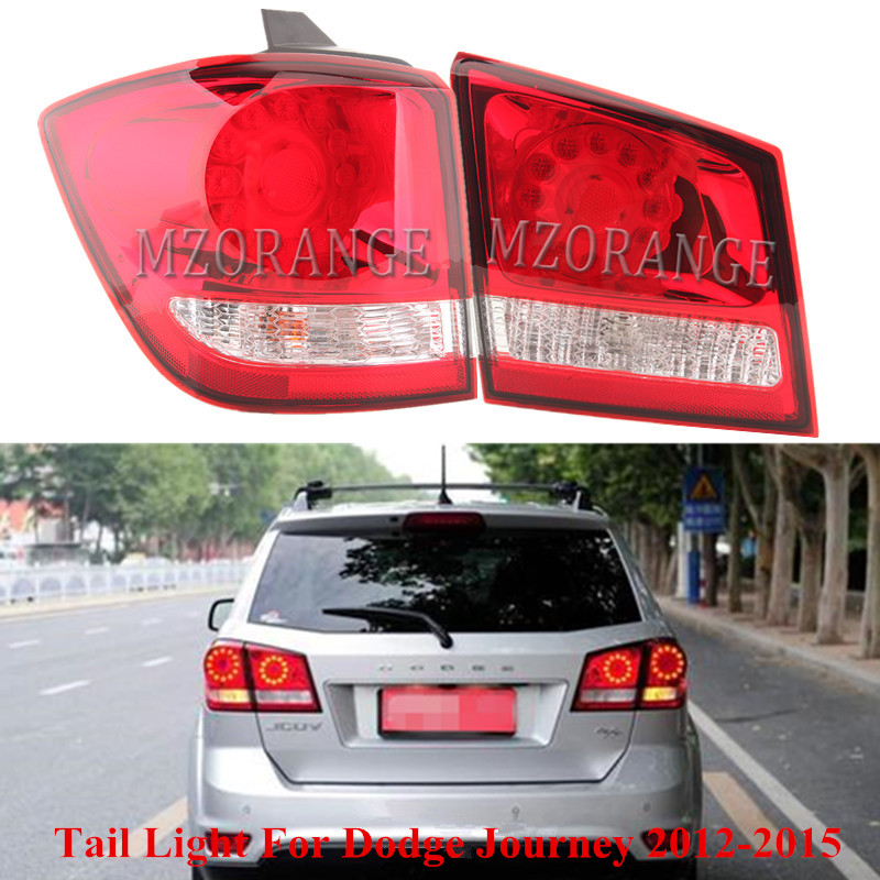 Inner Outer Tail Light For Dodge Journey JCUV 2012-2015 Rear Tail Brake Turn Signal Lights Lamp Tailights Warning Light