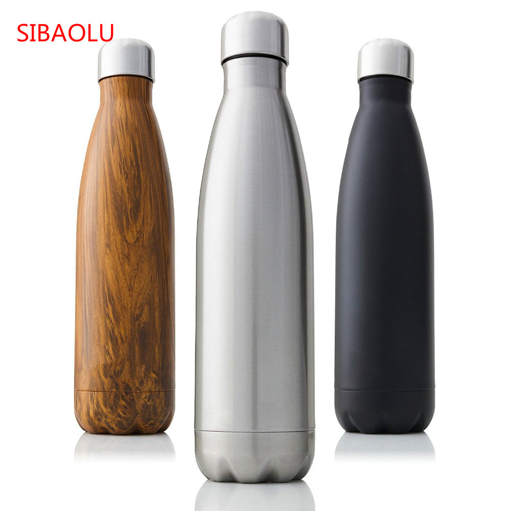 1000ml Vacuum Flask Stainless Steel Single Wall Insulated Sports Water Bottle
