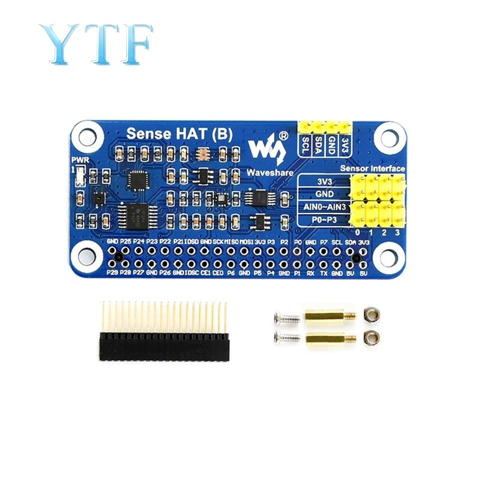 Raspberry Pi 4B Expansion Board Gyroscope Sensor / Accelerometer / Temperature And Humidity Sensor Module