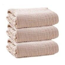 COSPOT новорожденных муслин Одеяло Bebe из органического хлопка с пышной 6-слойной юбкой Ванна Полотенца ребенка пеленать Одеяло s Пеленальное 45