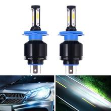 2pcs h7 h4 h11 h8 9005 9006 led car light canbus turbo LED headlight  mini Super Bright bulb 6500K DC12V-36V white auto fog lamp