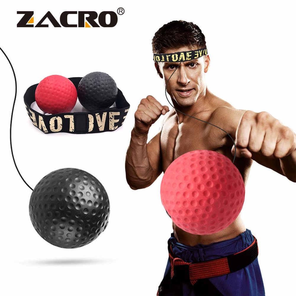 Boksen Reflex Snelheid Punch Bal Sanda Boxer Verhogen Reactiekracht Hand Oog Training Set Stress Gym Boksen Muay Thai Oefening