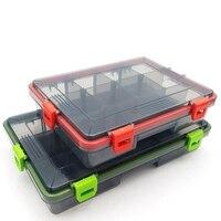 Waterproof Artificial Bait Bait Fishing Box Fishing Accessories Portable Fishing Gear Box Tissue Box Fishing Tackle Boxes     -
