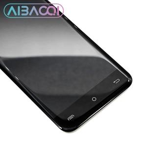 Image 3 - AiBaoQi yeni orijinal 5.0 inç dokunmatik ekran + 1280x720 LCD ekran meclisi değiştirme Cubot sihirli Android 7.0 telefon