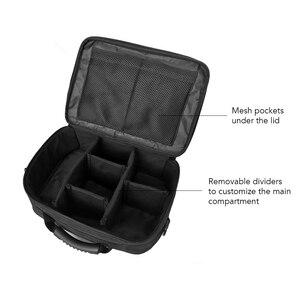 Image 3 - Fishing Tackle Bag Water Resistant oxford fabric Fishing Storage Bag Crossbody Shoulder Bag Handbag with Removable Dividers