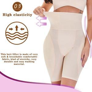 Image 4 - Minifaceminigirl Afslanken Schede Buik Vrouwen Butt Lifter Shapewear Panty Gewatteerde Dij Trimmer Afval Trainer Bindmiddelen En Shapers