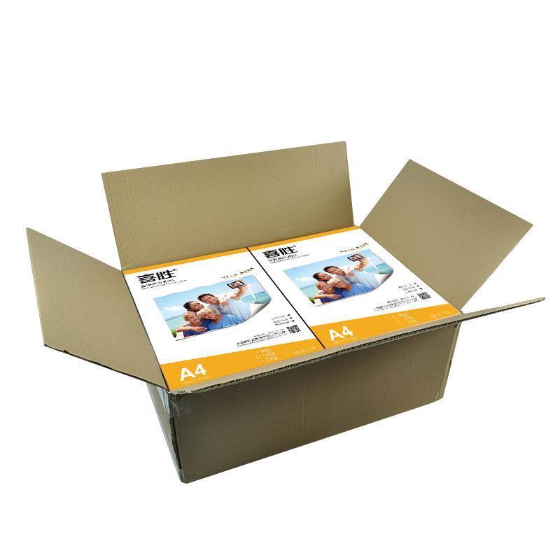 Купить с кэшбэком 80g 120g 135g 150g 180gA4 A3 100sheets Self Adhesive magnetic Inkjet Printing with back glue sticker premium glossy photo paper