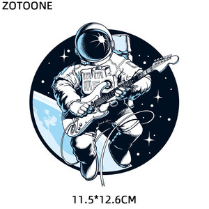 Iron on Astronaut Patches Set for Fashion Clothing DIY T-shirt Applique Heat Transfer Vinyl Patch Stickers Letters Thermal Press
