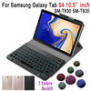 Slim Case For Samsung Galaxy Tab S4 10.5 Keyboard T830 T835 SM-T830 Bluetooth Keyboard Leather Cover Funda with Pencil Holder