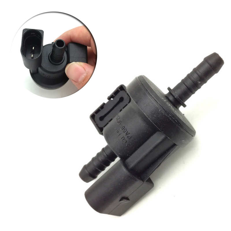 Paliwa dla pochłaniacz par paliwa zawór elektromagnetyczny dla Audi A3 A4 A6 Q7 A8/VW Jetta Golf 06E 906 517 A 06E906517A 0280142431