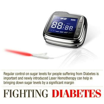 Professional Medical Wrist Watch Cold Laser Therapy Hypertension Hyperglycaemia Laser Therapy Watch