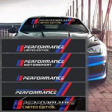Car Front Rear Windshield Sticker Automobile for BMW M E46 E39 E90 E91 E60 E36 E92 E30 E34 E70 E87 Car Styling Accessories