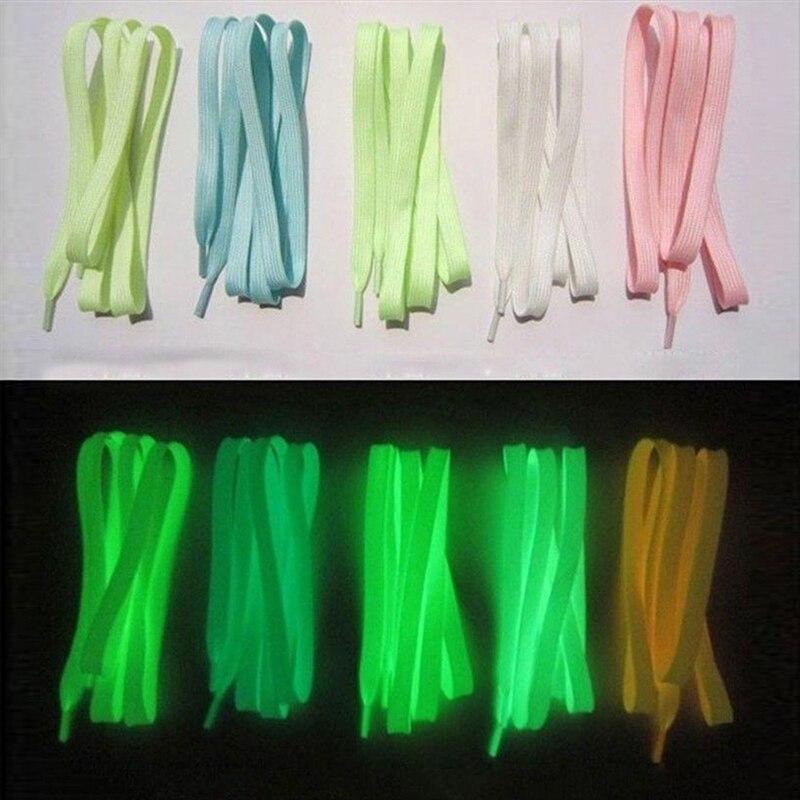 3Pair Sport Shoes Lace 1M Polyester Neon Color Luminous Fluorescent Shoelaces Self Defense Security & Protection