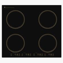 2 3 / 4 głowice wbudowany płytą grzejną indukcyjna kuchenka na podczerwień wbudowany wbudowany elektromagnetyczne palnik do gotowania wysokiej mocy gorący kociołek kuchenka