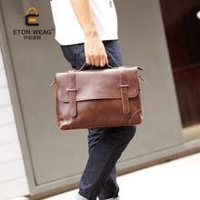 The new Korean version of mens handbags casual retro briefcase shoulder bag
