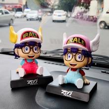 Anime Cartoon Dr.Slump Arale shake head car ornaments Q vers