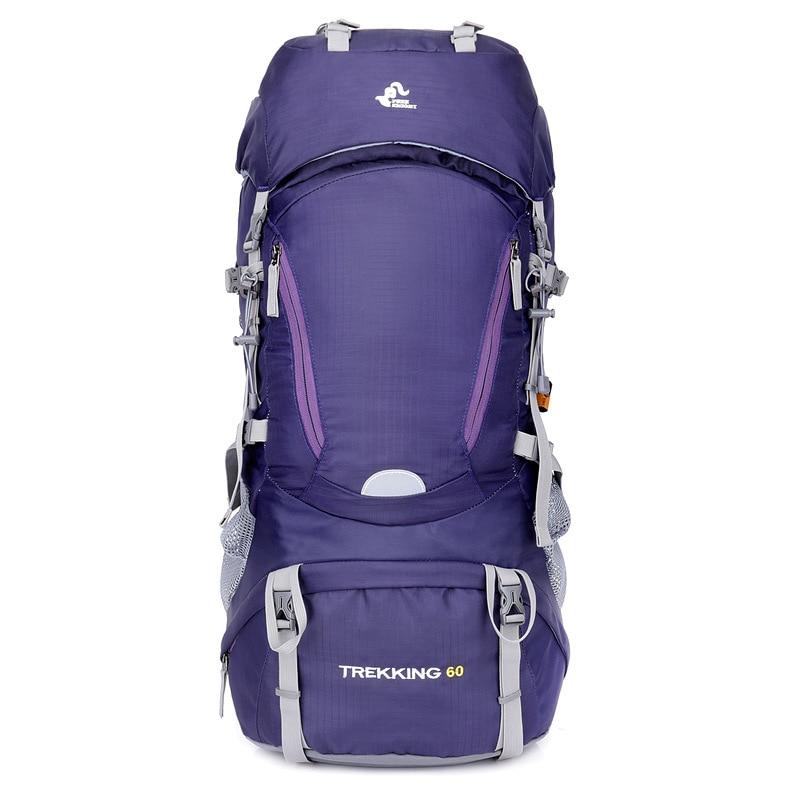 Free Knight 60L Waterproof Outdoor Hiking Backpacks Rucksack Internal Frame Sport Travel Trekking Climbing Bags Trekking Camping