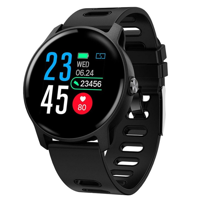 Men Smart Watch <font><b>S08</b></font> Fitness Tracker Heart Rate Monitor Pedometer IP68 Waterproof Women <font><b>Smartwatch</b></font> For Android IOS Phone image