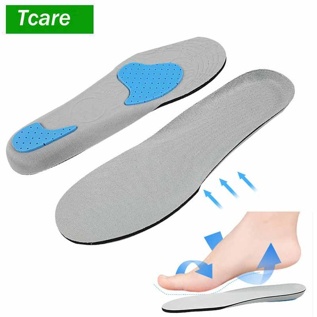 1Pair Shoe Insoles Orthotic Insoles Memory Foam Insoles Providing Excellent Shock Absorption and Cushioning Health Care