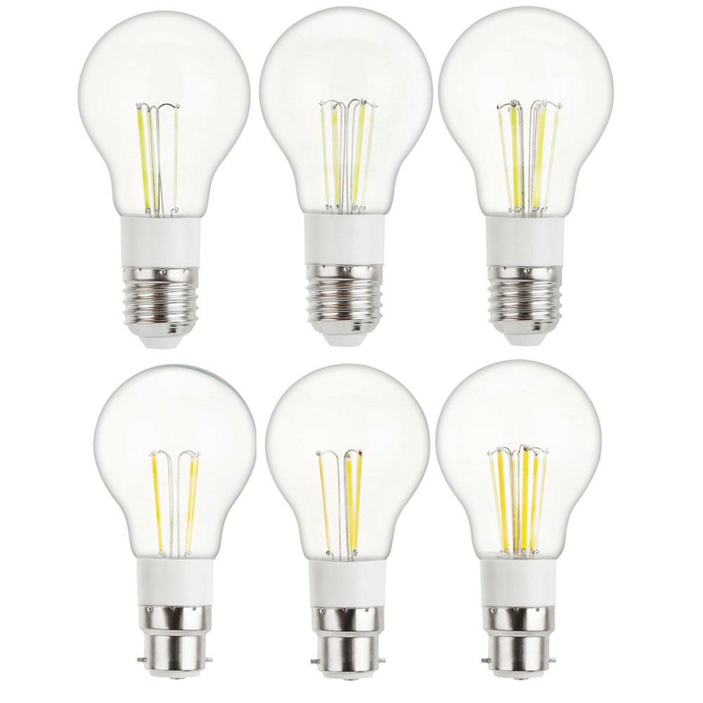 <font><b>LED</b></font> Edison Bulb <font><b>E27</b></font> B22 3W 4W 6W Retro Vintage b22 Bayonet Home Decor Light Glass Cover Lamp Replace <font><b>30W</b></font>- 60W Incandescent Lamp image