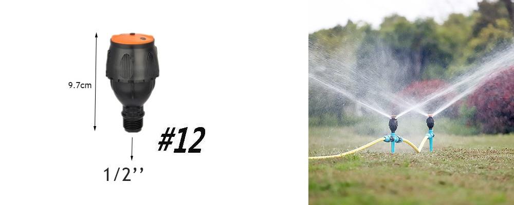 H5ac64e2bdd054f0f8406f0dd070fd737Z Garden Drip irrigation Hose Connector Spray Sprinkler Automatic Irrigation Garden Irrigation System Autowatering