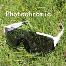 Crave 3 lente photochromic ciclismo óculos de sol esporte estrada mtb mountain bike descoloração poc(China)