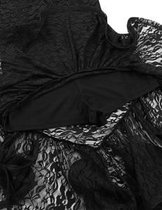 Image 5 - Nữ Xù Lông Nhảy Múa Thi ĐẦM Cao Thấp cho Tiếng La Tinh Vũ Điệu Samba Áo Thể Dục Dụng Cụ Dancewear Trưởng Thành Trình Diễn Trang Phục