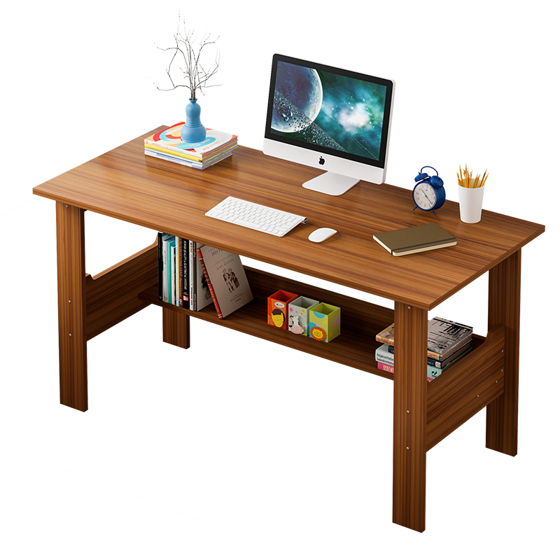 Computerized Desktop Simple Home Student  Modern Bedroom Office Study  Space Saving Small Table