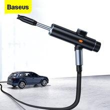 Baseus carro elétrico pistola de água alta pressão lavadora espuma bico lavagem carro limpeza automática usb recarregável sem fio spray lavagem carro