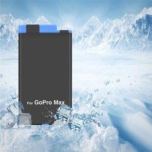 Image 5 - Batterie de remplacement pour chargeur de batterie 2 en 1 pour accessoires de caméra daction panoramique GoPro MAX