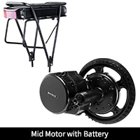 Mid Motor with Rear Battery