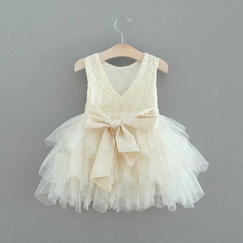 119-4-Lace Tulle Girls Dress
