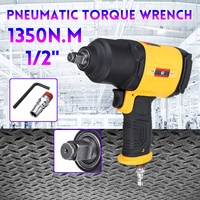 Pneumatic Torque Wrench Tool Spanner Power Tools Tire Remoual Torque Impact Sleeves Spanners Air Tools 1/2 Square Head