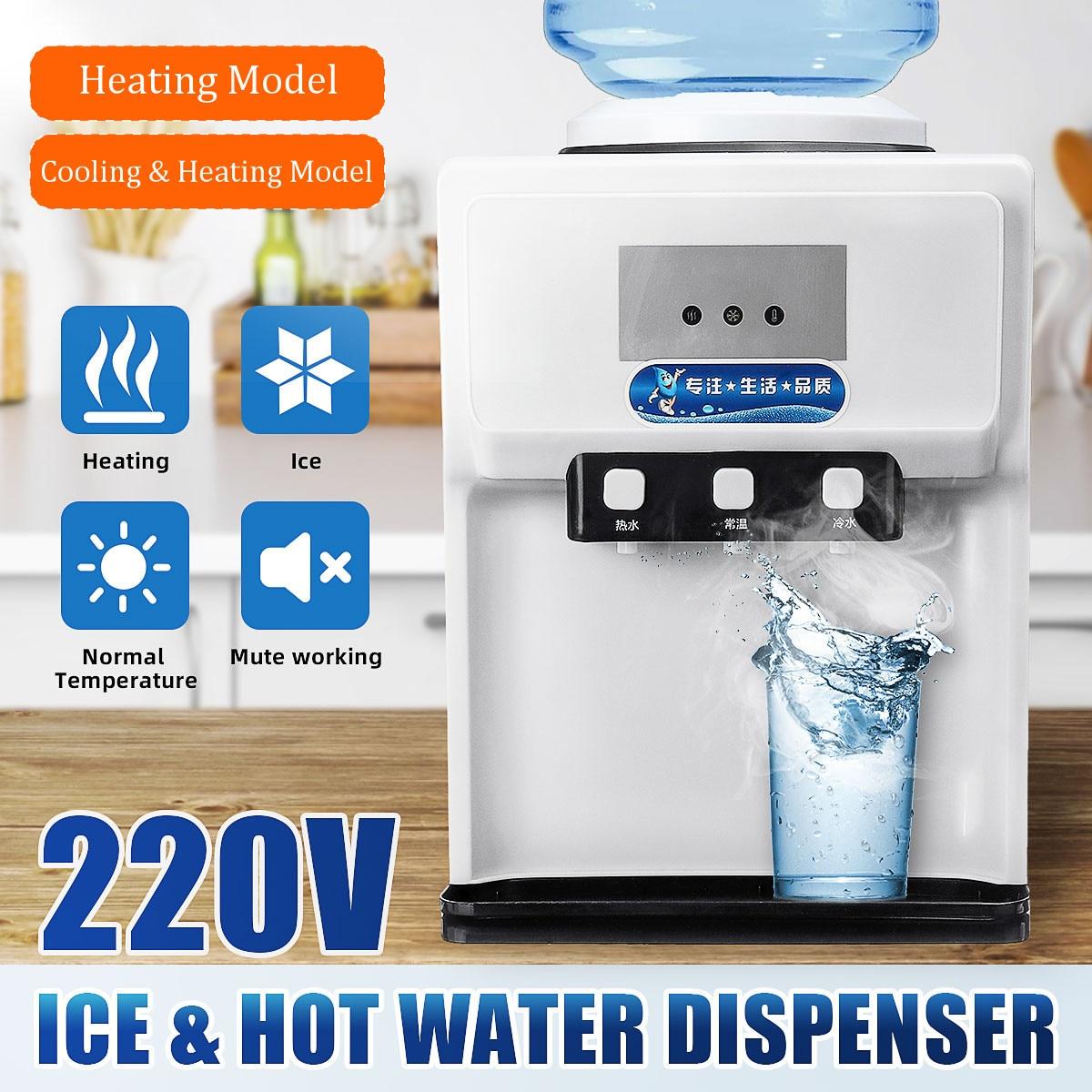 500W Warm Hot Drink Machine Drink Water Dispenser Desktop Water Holder Heating Cooling Water Fountains Boiler Drinkware Tools|Water Dispensers| - AliExpress