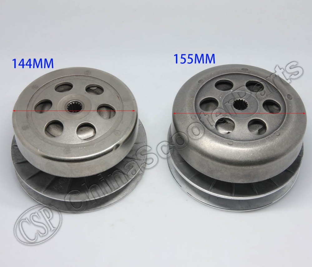 165MM 16T Clutch Assembly für Linhai <font><b>Buyang</b></font> 250 260 <font><b>300</b></font> YP Majestät VOG XinYue 250CC 260CC 300CC 170MM 173ML Roller ATV Go Kart image