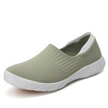 К 2020 Году Новые Мода Лето Женщины Удобная Обувь Случайные Кроссовки Выдалбливают Дамы Квартиры Torridity Поскользнуться На Обувь