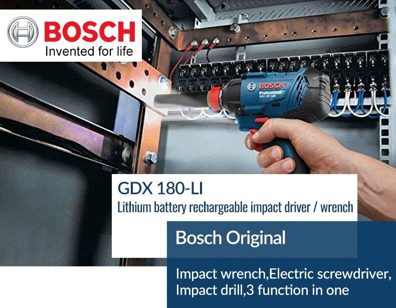 Bosch Original 18V Cordless Electric Impact Wrench