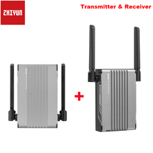 Zhiyun transmount映像無線伝送の送信機受信機 1080 hd zhiyunクレーン 2s weebill sスタビライザーデジタル一眼レフカメラ