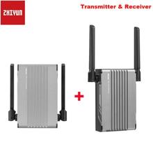 Zhiyun transmount imagem transmissor de transmissão sem fio receptor 1080p hd para zhiyun guindaste 2s weebill s stablizer dslr câmera