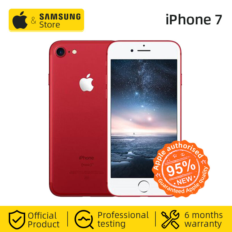 Original Apple IPhone 7 4G LTE Smartphone 32/128GB ROM IOS Mobile Phone (Used 99% New)