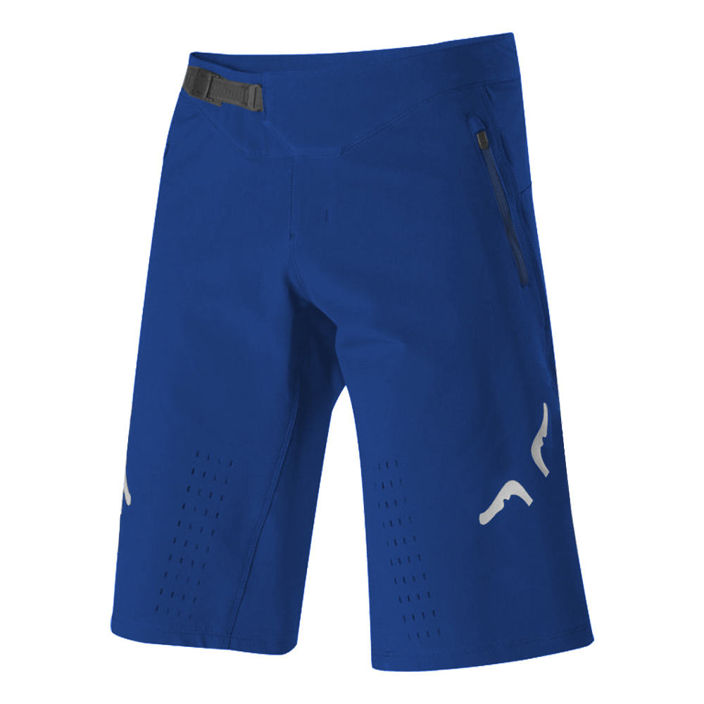 Delicate Fox MTB Bike Off-road Motocross Mountain Bicycle Blue Shorts For Men