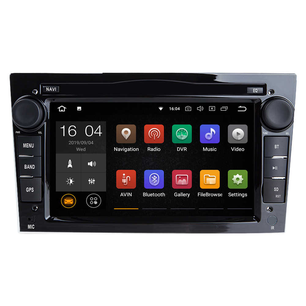 2Din Android9.0 車なし DVD プレーヤーオペル Vivaro Zafira B ベクトラ C コルサ D C アストラ H グラム J meriva でマルチメディア GPS ナビゲーションラジオ