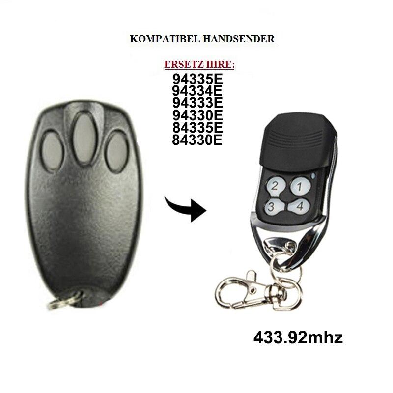 1pcs for 94335E 94334E 94333E 94330E 84335E 84334E 84333E 84330E garage door replacement remote control 433.92mhz Door Remote Control     - title=