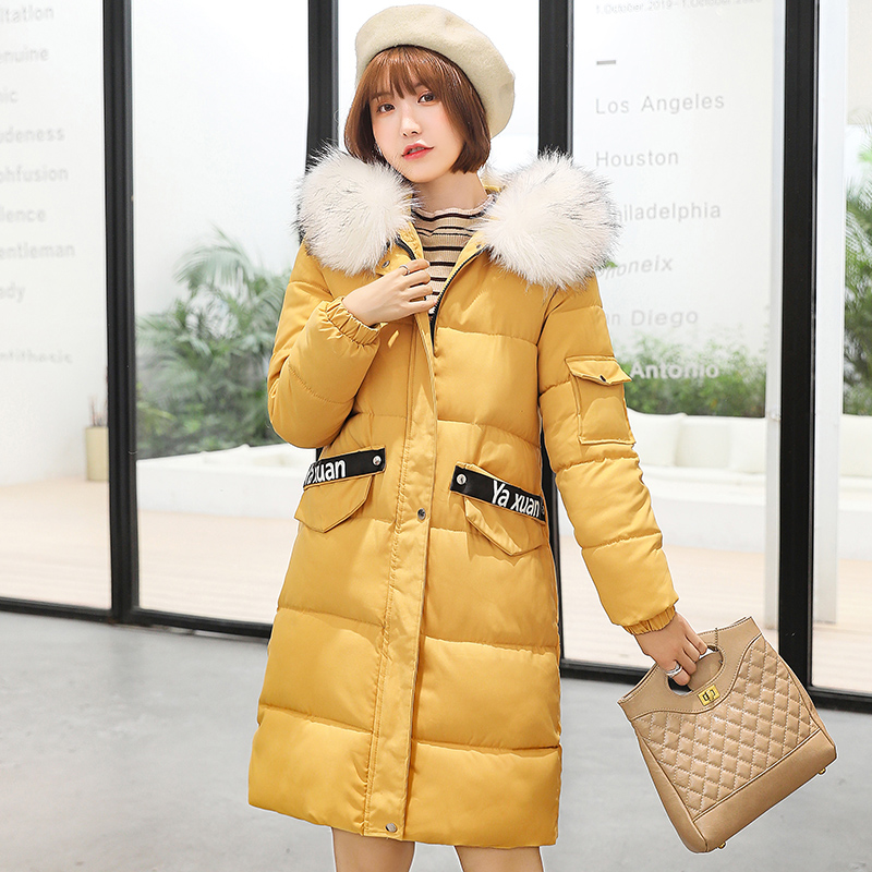 2019 New Arrival Warm Padded Jackets Slim Long Winter Jacket Women Thicken Ladies Coat Warm Coats Plus Size 7xl Parkas